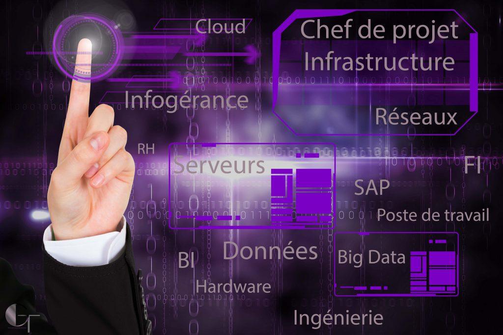 chef de projet freelance infrastructure: interfaces