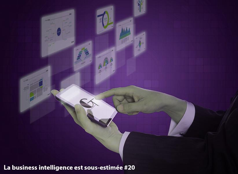 La business intelligence est sous-estimée # 20